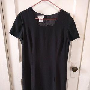 Worthington Short Sleeve Little Black Dress-Sz 14